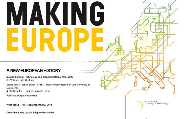 Book series: A new European history